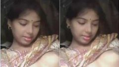 Cute Desi Girl Showing Her Boobs and Pussy