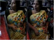 Tamil Bhabhi Showing Boob To Shop Owner