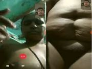 Sexy Telugu Bhabhi Showing Her Boobs and Pussy To Lover On Video Call
