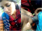 Horny Cheating Bhabhi Sucking Dewar Dick