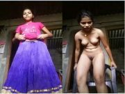 Desi Village Girl Record Her Nude Selfie