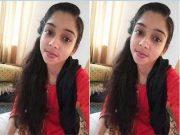 Cute Desi Girl Record Her Fingering Video For Lover Part 2