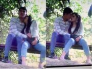 Nepali Lover OutDoor Romance Capture By CC tv