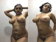 Super Hot Desi Girl Nude Dance in Bathroom part 2