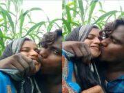 Desi Lover OutDoor Kissing