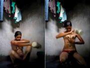 Cute Desi Girl Bathing