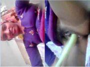 Horny Desi Village Girl Masturbating
