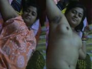 Sexy Desi Boudi Nude Video Record By Hubby