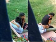 Desi Lover Romance and Fucked in Park