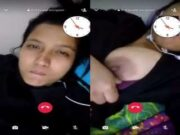 Sexy Neapli Girl Showing Her Boobs On Video Call