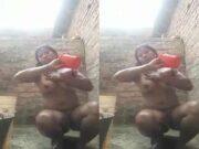 Desi Village Girl OutDoor Bathing Part 3