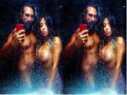 Couple Record Nude Selfie