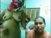 Tamil Wife Showing her Nude Body TO Fans