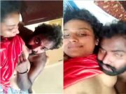 Desi Mallu Gf Boob Sucking and Pussy Licking By Lover