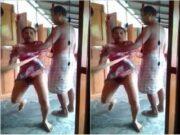 Assam Boudi Showing Pussy