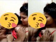 Cute Bangla Girl Boobs Sucking By Lover