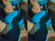 Sleeping Wife Boob Pressing By hubby