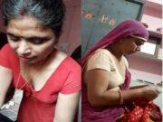 Desi Bhabhi Sleeping and Handjob