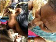 Telugu Bhabhi Out Door Blowjob
