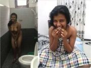 Sexy Lankan Girl Bathing Video Record By Lover