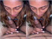 Lankan Wife Boobs Pressing and Blowjob