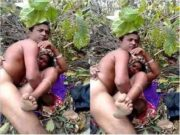 Desi Randi Out Door Fucking With Customer Caught BY Village Guy