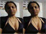 Sexy Bhabhi Record Her Selfie for Lover