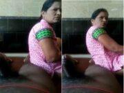 Today Exclusive- Desi Telugu Bhabhi Give Handjob and Ready for Fucking