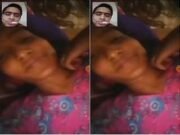 Today Exclusive- Desi Bangla Girl Showing Her Boobs On VIdeo Call