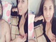 Cute Paki Girl Boob Pressing By Lover