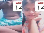 Cute Bangla Girl Showing her Boobs and Pussy On video Call