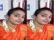 Tamil Wife Showing her Boobs and Pussy On Video Call