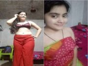 Most Demanded Desi Girl Record her Nude Video For Lover Part 2
