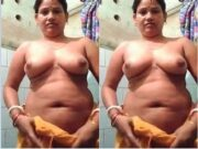 Desi Boudi Strip her Cloths and Showing Her Boobs and Pussy Part 3