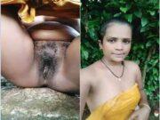 Horny Desi Bhabhi OutDoor Bathing Part 2