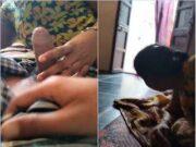 Shy Telugu Wife Give Handjob