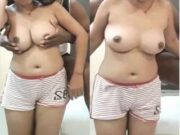 Desi Wife Boobs Pressing By Hubby
