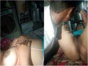 Desi Village Bhabhi Pussy Licking