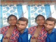 Desi Village Girl Boobs Pressing By Lover