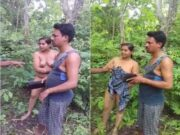 Odia Cheating Wife Outdoor Romance Caught By Village People