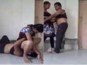 Today Exclusive- Crazy Desi Lover Licking GF Pussy