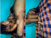 Today Exclusive- Desi Bhabhi Blowjob and Fucking In Doggy Style