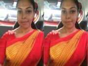 Today Exclusive- Lankan Wife Nude Video Record By Hubby Part 1