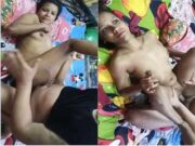 Today Exclusive- Bhojpuri Wife Pussy Fingering and Hard Fucked By Hubby