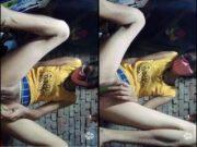 Today Exclusive- Cute Desi Girl Masturbating Part 2