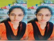 Today Exclusive- Most Demanded Telugu Bhabhi Fingering on Video Call