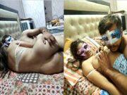 Today Exclusive- Desi Wife Boobs Sucking